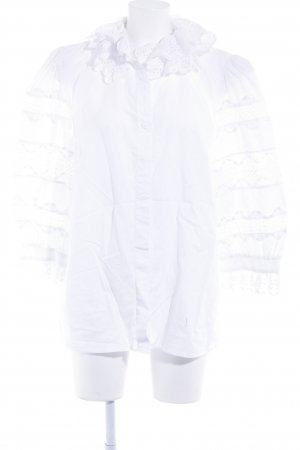Hess Frackmann Folkloristische blouse wit elegant