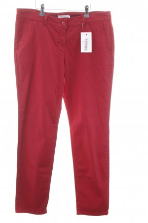 Hess Natur Chinohose rot Casual-Look