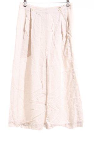 Hess Natur Pantalone culotte beige chiaro stile da moda di strada