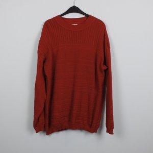 Hess Natur Jersey holgados rojo ladrillo Algodón