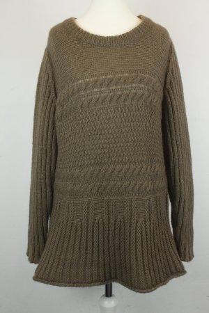 Hess Natur Pullover Strickpullover Gr. 36/38 hellbraun
