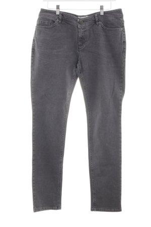 Hess Natur Slim Jeans hellgrau Casual-Look