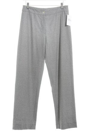 Hess Natur Pantalón tipo suéter gris estilo «business»