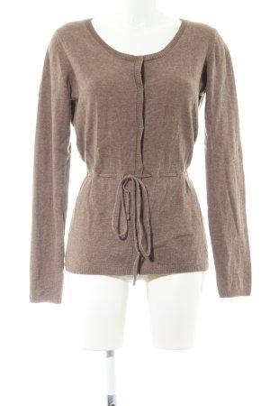 begrenzter Verkauf elegant im Stil toller Wert hessnatur Cardigan braun Allover-Druck Casual-Look