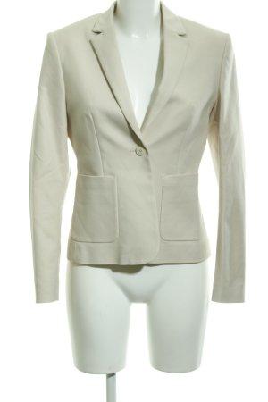 hessnatur Jersey Blazer amarillo claro estilo «business»