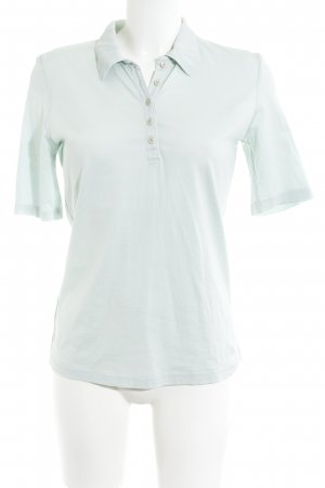hessnatur Polo-Shirt graugrün Casual-Look