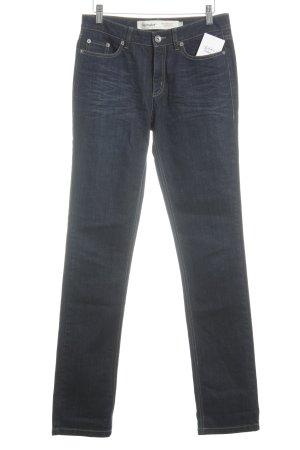hessnatur Straight-Leg Jeans dunkelblau Casual-Look