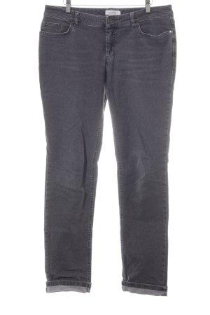 hessnatur Jeans a gamba dritta grigio stile da moda di strada
