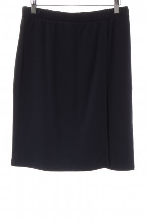 hessnatur Stretch rok donkerblauw casual uitstraling