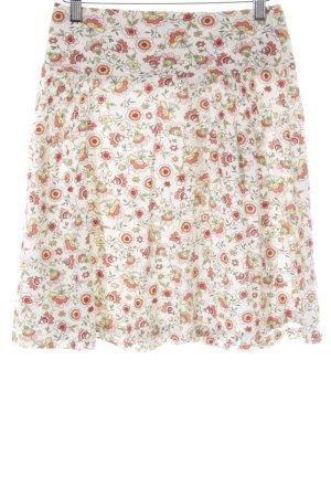 hessnatur Circle Skirt flower pattern casual look