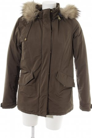 HETREGO Parka olive green country style