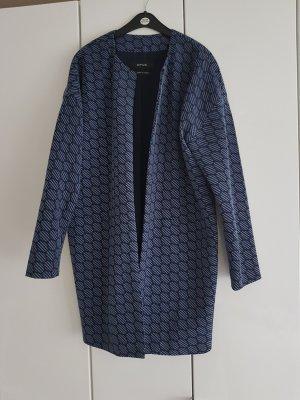 Opus Long Jacket steel blue-cornflower blue