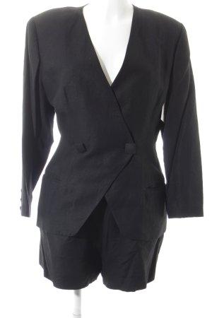 Hexagona Kostüm schwarz extravaganter Stil