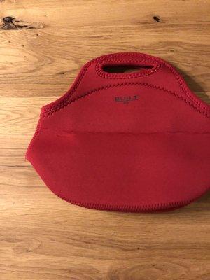 Bolsa de la compra rojo