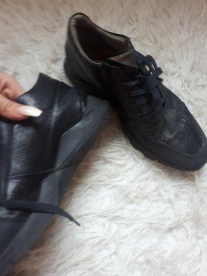 A.S.98 Zapatos brogue negro