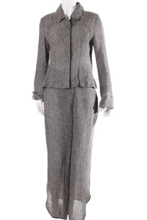 Heymann linen suit gray