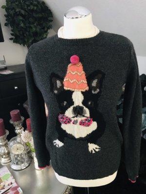 Breuninger Exquisit Kraagloze sweater veelkleurig