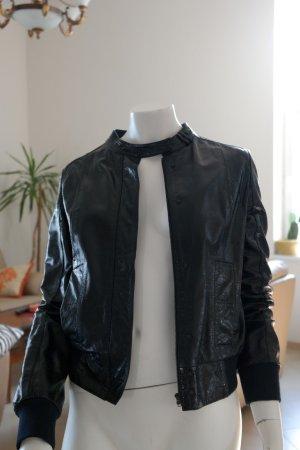 Hgo Boss leather jacket