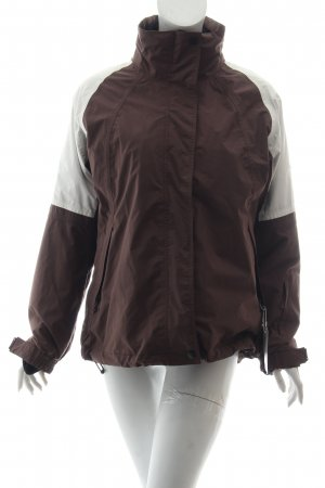 hickory Outdoorjacke braun-weiß Casual-Look