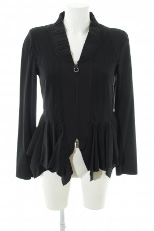 High Blouse Jacket black casual look