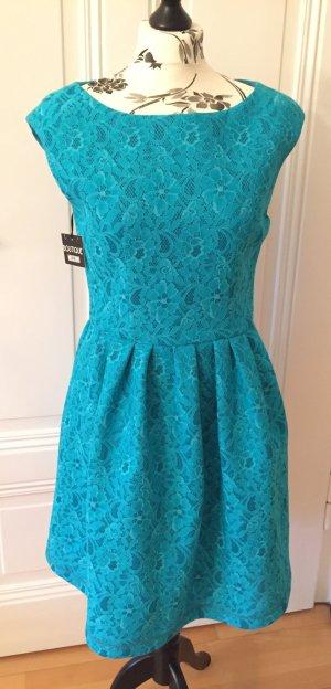 High Fashion Designer Kleid mit Spitze von Boutique MOSCHINO *NEU* Xmas