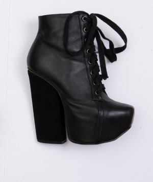 High Heel Boots Shellys London 35 Leder schwarz