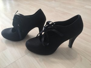 Escarpins à lacets noir