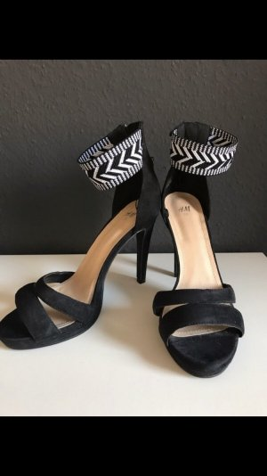 High heel, H&m, zara, Pumps, Sommer, Party, Azteken, boho,