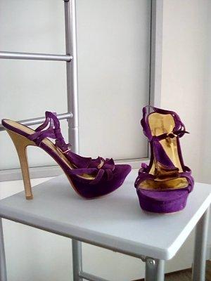 High Heel I Plateau-Sandalette I 14 cm