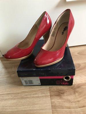 High Heel in Rot Größe 40
