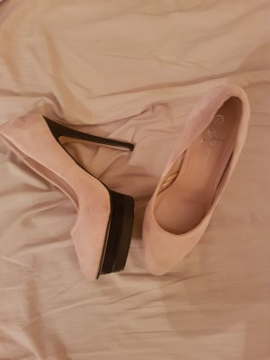 High Heel in zartem rosa