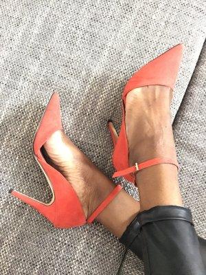 High heel orange super schön