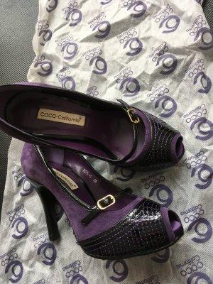 High heel Peeptoe Pumps