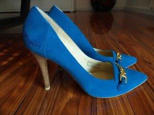 High Heel Pumps Blau Replay 38