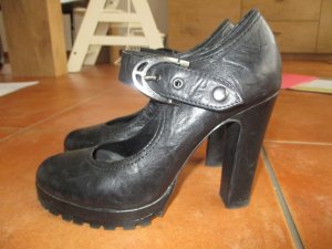 High Heel Pumps, Gr.38, echt Leder