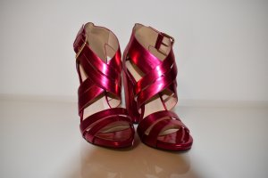 Little Mistress Strapped pumps raspberry-red-magenta