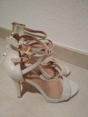 High Heel Sandal white