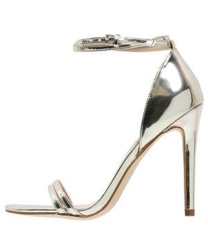 High-Heel Sandalette, Gold, 'Elivia' Gr. 40