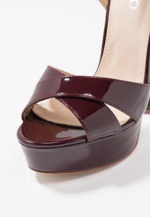 High Heel Sandalette mit Megaabsatz