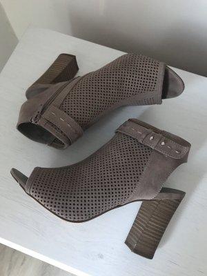 High Heel Sandal multicolored imitation leather