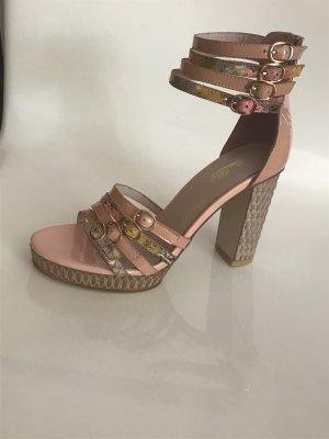 High Heel Sandal dusky pink leather