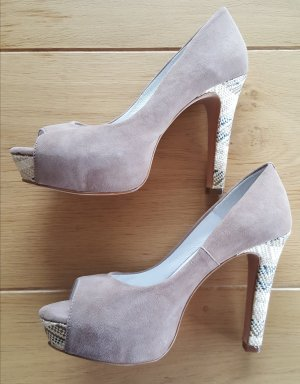 Conleys High Heel Sandal taupe