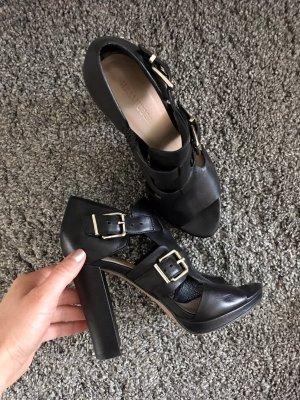 Hallhuber High Heel Sandal black leather