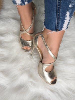 High-Heel Sandaletten *Buffalo | Leder*