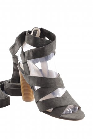 High Heel Sandaletten khaki Casual-Look