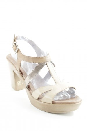 High Heel Sandaletten mehrfarbig Casual-Look