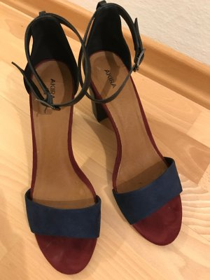 High Heel Sandaletten mit Blockabsatz