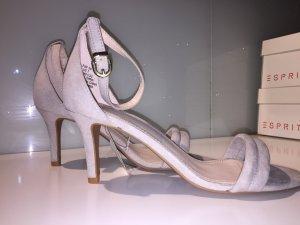 H&M High Heel Sandal light grey-pink
