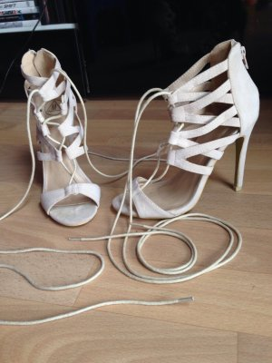 Missguided High-Heeled Sandals cream