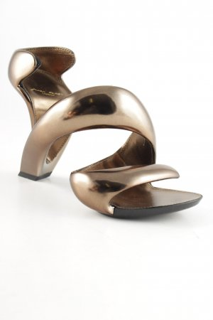 "High Heel Sandal ""Mojito"" bronze-colored"